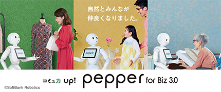 Pepper for Biz
