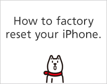 How to factory reset your iPhone.