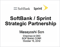 SoftBank / Sprint Strategic Partnership