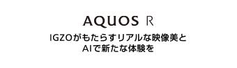 AQUOS R:IGZOがもたらすリアルな映像美と AIで新たな体験を