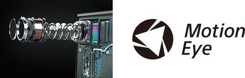 新開発のMotion Eye™ カメラシステム