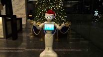 2014クリスマス(ロボ文字)
