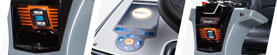 視覚ベースのAI 複雑な環境での走行が可能 予期せぬ障害物や人を自動回避 使用環境の改修が不要 複雑な初期設定は不要 スタートボタンを押すだけ自律運転開始