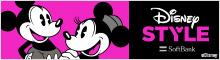 Disney STYLE Disney market on Softbank ©Disney